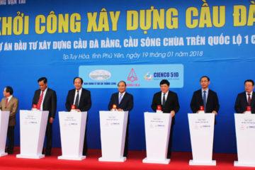 Lễ khởi công xây dựng cầu Đà Rằng Tỉnh Phú Yên