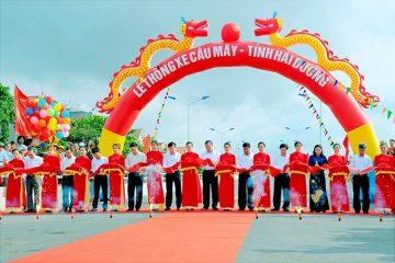 Hải Dương: Thông xe cầu Mây nối thị xã Kinh Môn với huyện Kim Thành