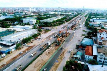 Hải Dương: Cận cảnh thi công cầu vượt Ngô Quyền trong ngày Quốc Khánh 2/9/2021